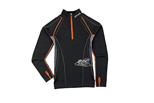 stihl-advance-shirt-fonctionnel-noir-m