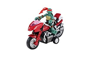 Amazon.com: TMNT Mini Mutants - Raphael Mini Moto-Cycle: Toys & Games