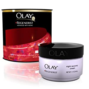 Olay Regenerist Night Recovery Moisturizing Treatment, 1.7 Ounce