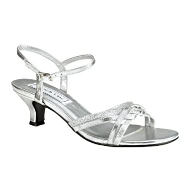 melanie silver wide fitting wedding shoes size 9 5