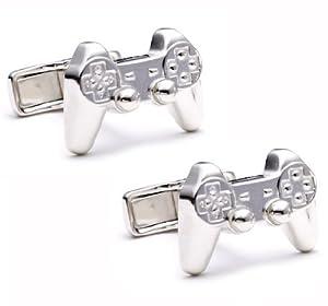 Sterling Silver Video Game Cufflinks Cuff Links