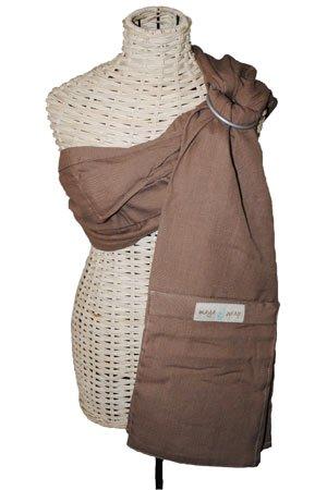 Maya Wrap Lightly Padded Baby Ring Sling-New Colors for 2010 (Medium, Dark Khaki)