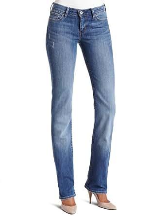 Levi's Misses Classic Slight Curve ID Straight Fit Jean, Raindrop, 14 S
