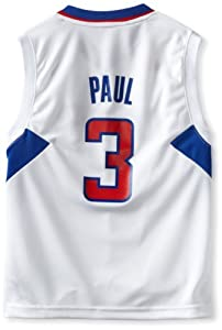 NBA Los Angeles Clippers Chris Paul Youth 8-20 Replica Home Jersey by adidas