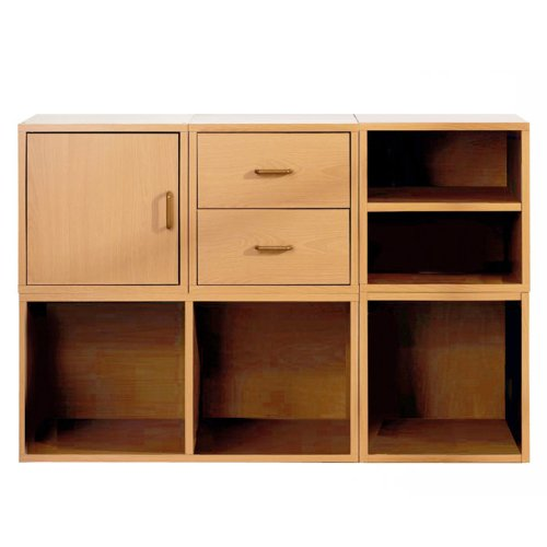 Foremost 340022 modular 5 in 1 shelf cube storage system for Foremost modular homes