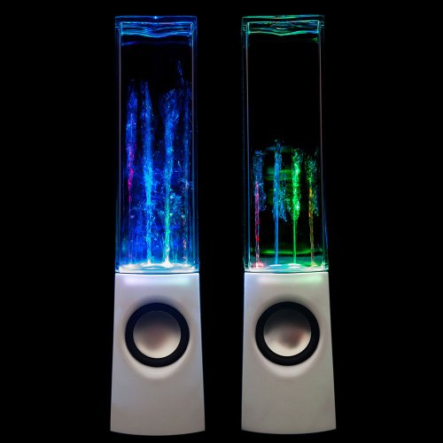 Leading Edge - Water Dancing Speakers White (White)