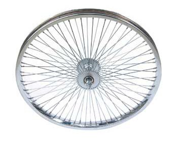 Bike | Bicycle 20″ 72 Spoke Free Wheel 80g Chrome
