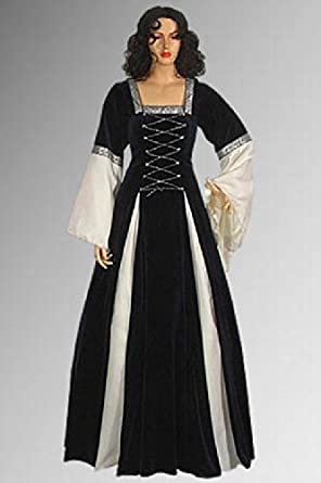 Amazon.com: Lady In Waiting Medieval Renaissance Gown