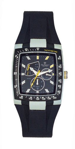 Jules Jurgensen Men's Tachymeter Watch #5002SY - Buy Jules Jurgensen Men's Tachymeter Watch #5002SY - Purchase Jules Jurgensen Men's Tachymeter Watch #5002SY (Jules Jurgensen, Jewelry, Categories, Watches, Men's Watches, Sport Watches, Rubber Banded)