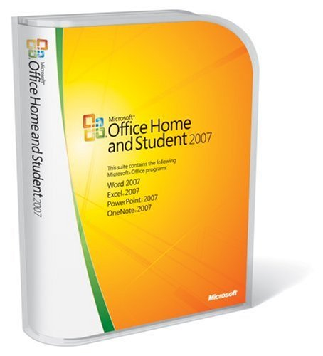 Microsoft Office Home and Student 2007 [Old Version] on sale