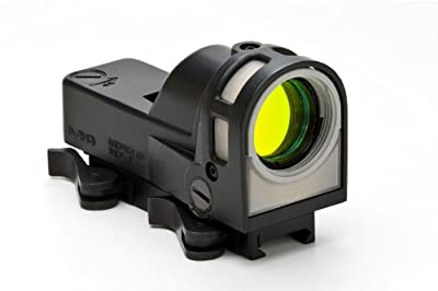 Meprolight Self-Powered Day/Night Reflex Sight with Dust Cover Bullseye Reticle from Meprolight