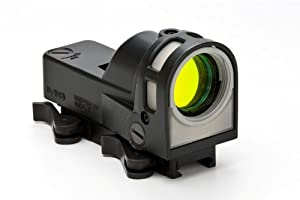 Meprolight Self-Powered Day Night Reflex Sight with Dust Cover Bullseye Reticle by Meprolight