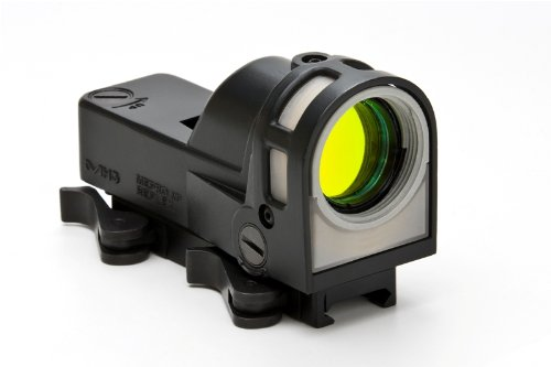 Meprolight Self-Powered Day/Night Reflex Sight With Dust Cover Bullseye Reticle