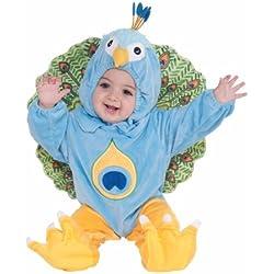 Forum Novelties Plush Peacock Child Costume, Infant