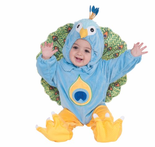 Forum Novelties Plush Peacock Child Costume, Infant