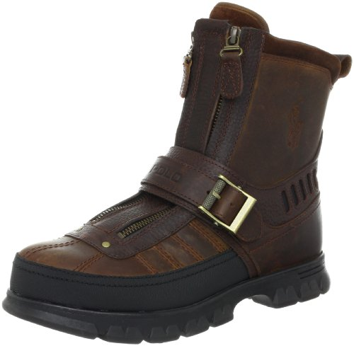 Polo Ralph Lauren Men's Kilnwick Boot,Mid Brown/Mid Brown,8.5 D US