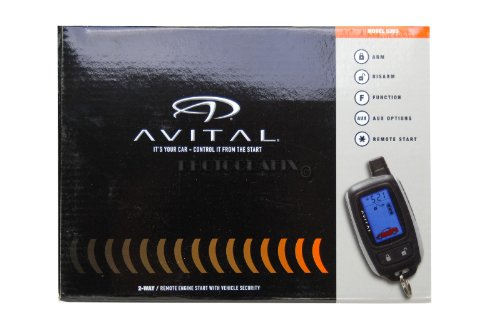 AVITAL 5303L Security/Remote Start System