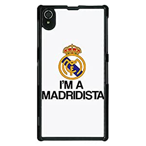 Jugaaduu Real Madrid Back Cover Case For Sony Xperia Z2