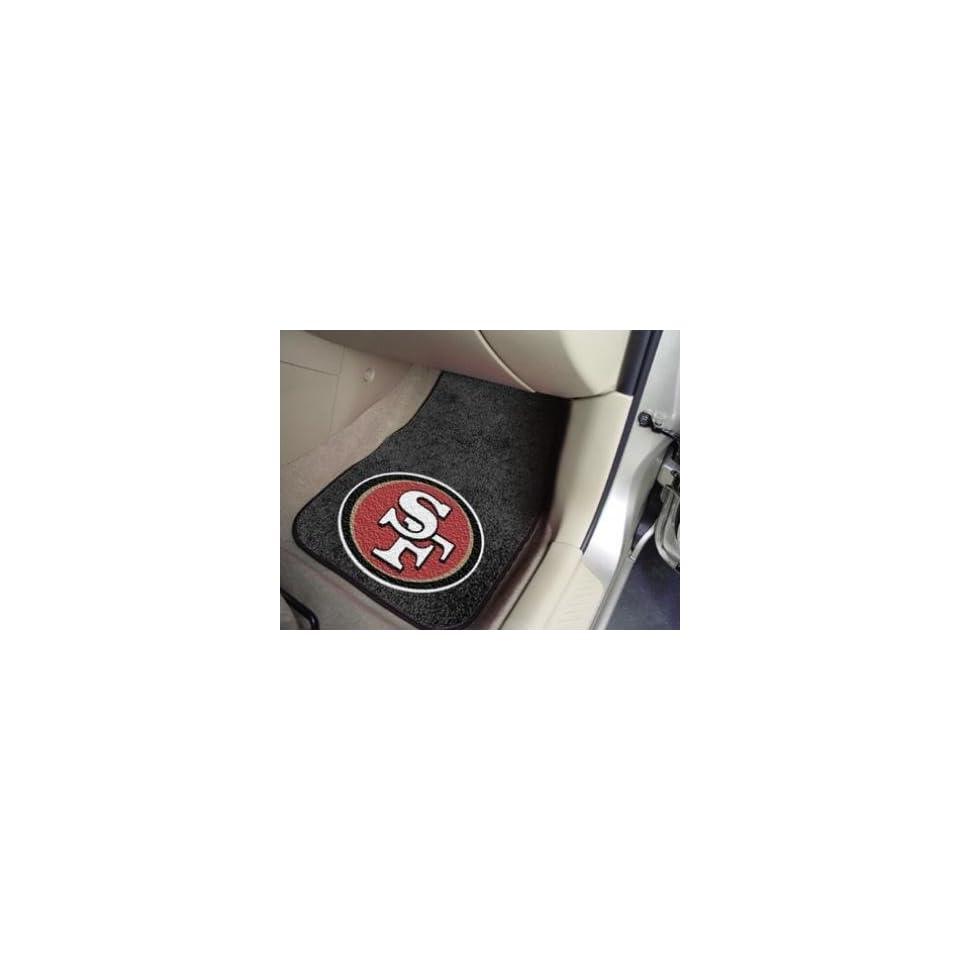San Francisco 49Ers Carpet Car/Truck/Auto Floor Mats