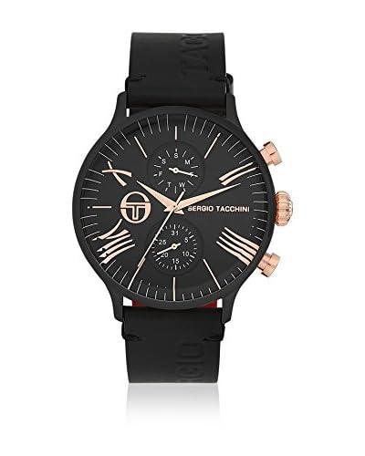 Sergio Tacchini Reloj de cuarzo Man Negro 45 mm