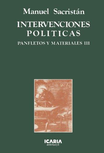 Intervenciones Políticas (Antrazyt)