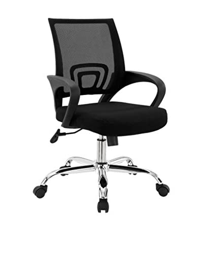 Modway Zoom Office Chair, Black