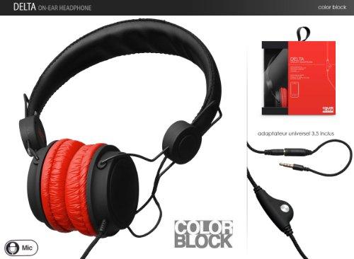 micro casque color block pas cher. Black Bedroom Furniture Sets. Home Design Ideas