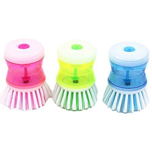 Generic Pot Pan Brush Cleaner Gadget Kitchen Wash Tool