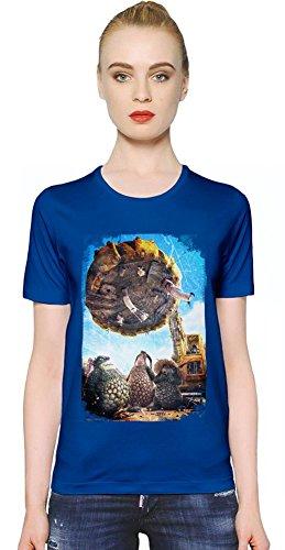 Bottersnikes & Gumbles Planet T-shirt donna Women T-Shirt Girl Ladies Stylish Fashion Fit Custom Apparel By Slick Stuff Medium