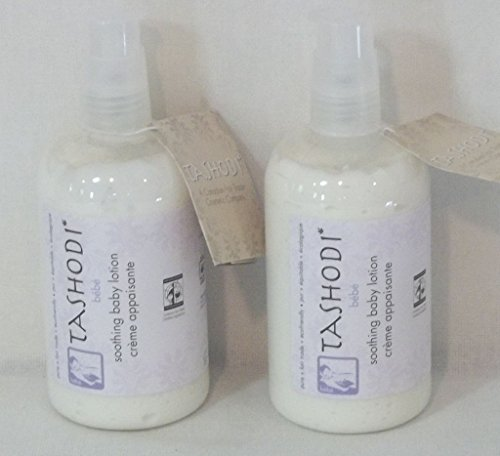 Tashodi Soothing Baby Lotion 12 Ounces (2 Pack) Pump Bottles