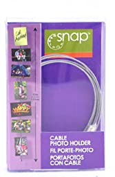 Snap Cable Magnetic Photo Holder