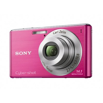 Black Friday Sony Cyber-Shot DSC-W530 14.1 MP Digital Still Camera with Carl Zeiss Vario-Tessar 4x Wide-Angle Optical Zoom Lens and 2.7-inch LCD (Pink) Deals