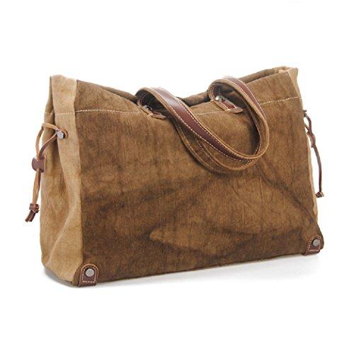 nasis-large-canvas-leather-travel-tote-luggage-hobo-weekender-duffel-satchel-handbag-al4048-coffee