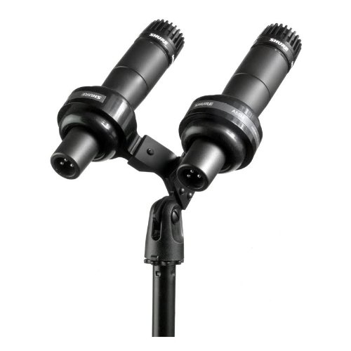 Shure Vip Presidential Dual Microphone Kit | Sm57Vip, 2X Sm57 Cardioid Microphones, Ideal For High-Profile Speaking Applications
