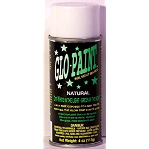 glow in the dark 4oz aerosol can glow in the dark spray paint. Black Bedroom Furniture Sets. Home Design Ideas