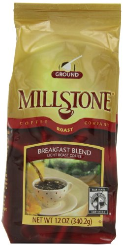 Millstone Breakfast Blend Ground Coffee, 12-Ounce Packages (Pack Of 2)