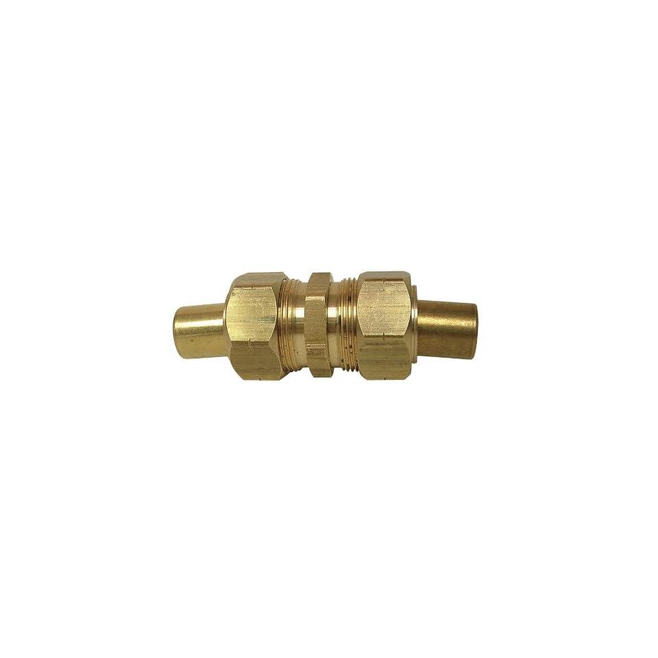 Watts A 510 Ander Lign Brass Compression Union 7/8 OD W/Insert 962 14