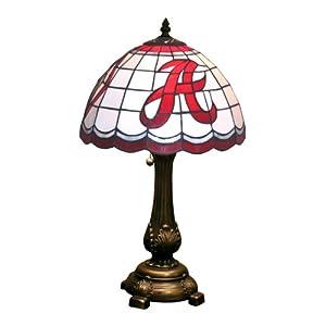 Amazon.com : NCAA Alabama Crimson Tide Tiffany Table Lamp