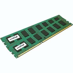 Crucial CT2KIT25664BA1339 PC1333 Main Memory DDR3 4 GB Crucial Value CL9 2x2 GB Kit Retail