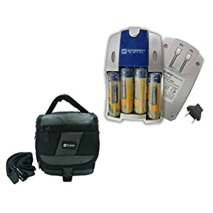 Kodak Z650 Digital Camera Accessory Kit includes: SDC-27 Case, SB257 Charger