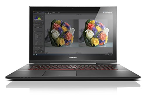 Lenovo Y70-70 Touch 43,9 cm (17,3 Zoll) Notebook (Intel Core i7-4720HQ, 16GB RAM, 512GB SSD, NVIDIA GeForce GTX 860M, 4 GB, Win 10 Home Touchscreen) schwarz