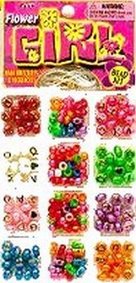 Ja-Ru Flower Girl Bead Kit (Pack of 6)