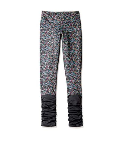 Be Up Women's Ruched Pant  [Circular Print]