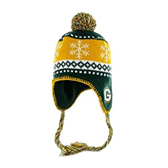 NFL Green Bay Packers Abomination Knit Cap, Dark Green, One-Size by
