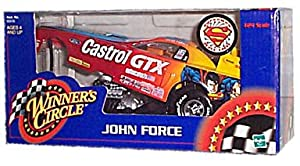 Winner's Circle - John Force - Ford/Castrol GTX - Superman Racing - 1:24 Scale Race Car Replica