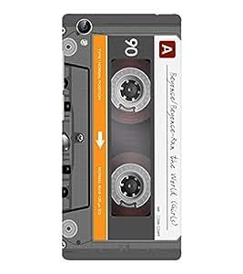 EPICCASE Audio Cassete Mobile Back Case Cover For Vivo Y51 (Designer Case)