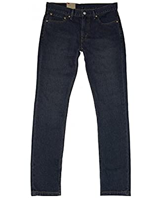 Levi's Mens 511 Slim Fit Jeans Blue Enzyme Stone Wash