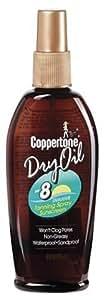 Coppertone Dry Oil Tanning Spray, SPF 8 - 6 fl oz