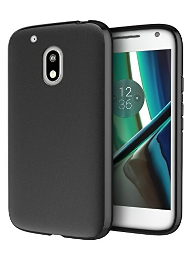 Moto G Play Case, Cimo [Matte] Premium Slim Fit Protective Cover for Motorola Moto G4 Play (2016) - Black (Cell Phone Accessories Cases compare prices)
