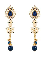 Akshim Multicolour Alloy Earrings For Women - B00NPY7ZBK